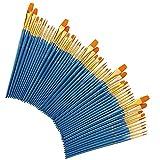CaoQuanBaiHuoDian Pinceles para Pintar Pintura cepillos de Nylon Cepillo de Pelo de acrílico Acuarela Pintura al óleo del Artista Que Pinta la Pintura del Artista Kits Set Fácil de Limpiar y Práctica