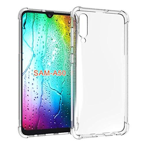 Capa Anti Shock Samsung Galaxy A50 2019, Capa Anti-Impacto, Transparente
