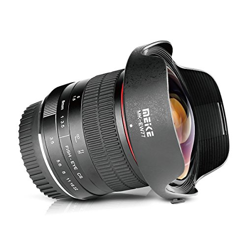 Meike 8mm f3.5 Fisheye Lens Ultra Wide Angle ...