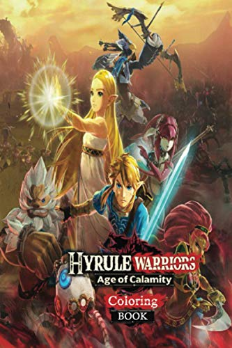 coloring Book Hyrule Warriors Age of Calamity