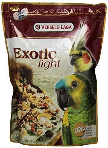 Versele Laga Papageienfutter Exotic Light 750 g, 3er Pack (3 x 750 g)