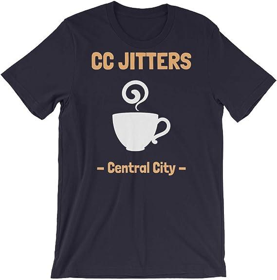 Cafe Shirts For Men Women Cool T Shirts Unisex T-Shirt CC Jitters