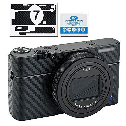 Protector de Cuerpo de cámara antiarañazos para Sony RX100 VII – Protector de película Protectora 3M calcomanías calcomanías de Fibra de Carbono para el Cuerpo de la cámara réflex Digital