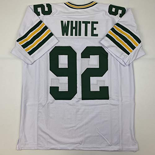 Unsigned Reggie White Green Bay White Custom Stitched Football Jersey Size Men's XL New No Brands/Logos