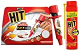 Product 1: Contains: 1 unit of HIT Anti Roach Gel Product 1: Gel based cockroach killer Product 1: Odourless gel bait attracts hidden cockroaches Product 1: On consumption of the gel, cockroaches go back to their nest and die Product 2: Contains: 1 u...