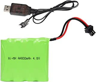 DOUBLE E 4.8V 800mAh Rechargeable Battery Pack for Remote Control Car