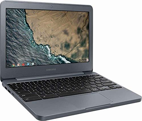 "Flagship 2019 Samsung Chromebook 3 11.6"" HD Energy-efficient Laptop- Intel Dual-Core Celeron N3060, 2GB RAM, 16GB eMMC SSD, 128G SD Card, 802.11ac, Bluetooth 4.0, HDMI, HD Webcam, USB 3.0, Chrome OS"