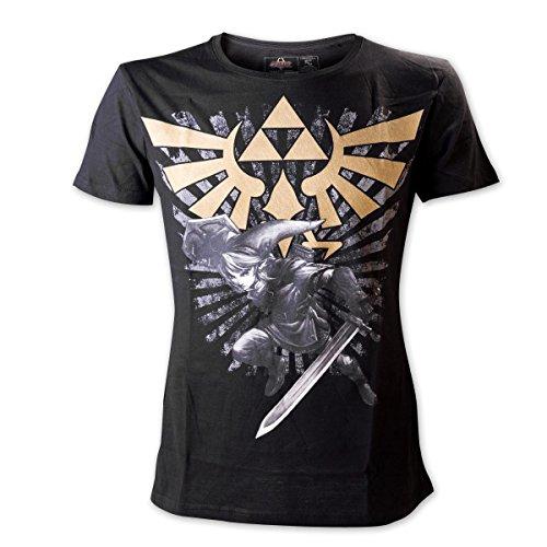 T-Shirt La Légende de Zelda avec Logo (XXL)