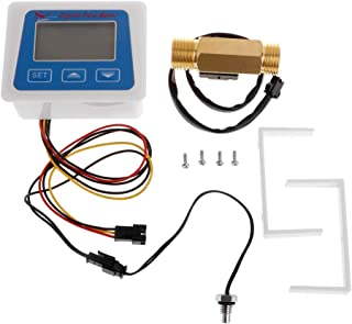 Duyummy - Medidor digital de caudal de agua con sensor de flujo G1 / 2