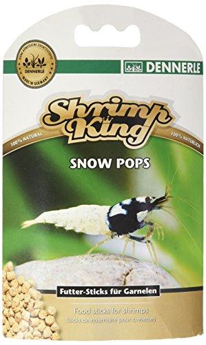 Shrimp King Snow Pops 40 g - sinkfähige Futtersticks aus Bio Sojakleie - für ausgeglichenes Wachstum und Vermehrungsfreude