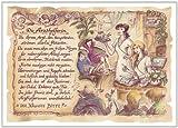 Die Staffelei Geschenk Karte Berufsbild Arzthelferin Krankenschwester Zeichnung mit Gedicht, 20 x 15 cm -