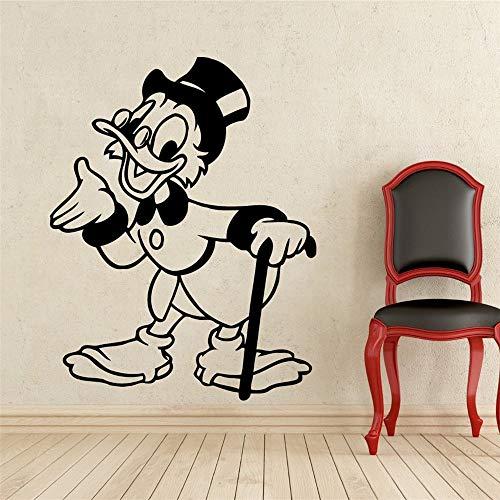 Kostuum oma Donald Duck kindernaam baby voor kinderkamer muursticker 3D muursticker 30.5x38.1 cm