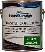 Green Gallon Coastal Copper 250 Ablative Antifouling Bottom Paint Green Gallon