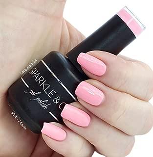 Sparkle & Co. Soak Off Gel Color 050 Medium Warm Pink