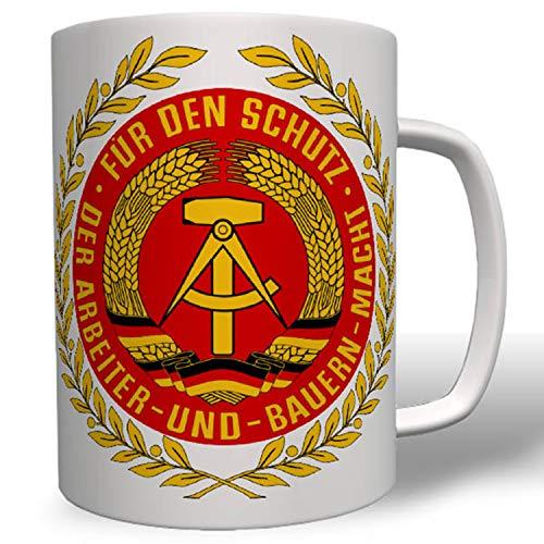 Nationale Volksarmee NVA DDR Ostdeutschland Abzeichen Panzer Tasse #16618