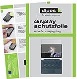 dipos I 2X Schutzfolie matt kompatibel mit Microsoft Surface Pro (2017) Folie Bildschirmschutzfolie