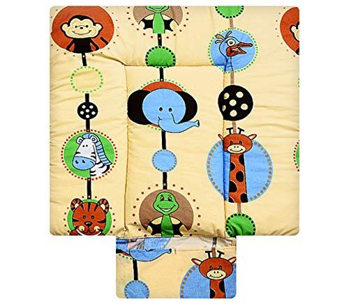 Best for Kids Matelas a Langer spécial Cuddly Soft 100% Coton Tapis de Table a Langer 3 en 1 en 3 Taille 70x85 avec Norme Öko Tex