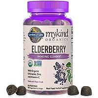 120-Count Garden of Life mykind Organics Elderberry Gummies