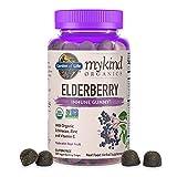 Garden of Life mykind Organics Elderberry Gummies - Immune Support...
