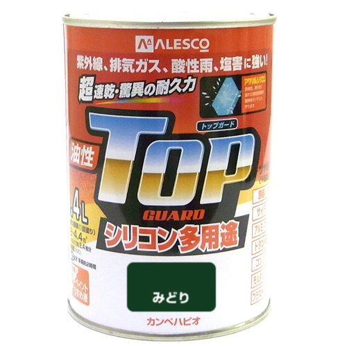 カンペハピオ 油性シリコン多用途塗料油性トップガード