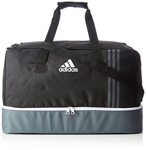 adidas Erwachsene Tiro B46 Team-Tasche L, Black/Dark Grey/White, 32 x 70 x 32 cm