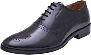 HiREL'S Men's Leather Formal Shoes