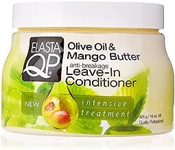 ELASTA QP Olive & Mango Butter Leave In Conditioner 15oz, 15 Oz (597150)
