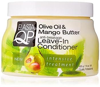 ELASTA QP Olive & Mango Butter Leave In Conditioner 15oz 15 Oz  597150
