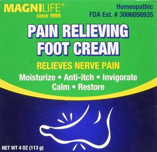 MagniLife Pain Relieving Foot Cream 4 oz