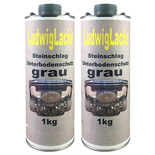 2 x kg Unterbodenschutz grau Steinschlagschutz überlackierbar mit Autolack