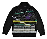 Rocawear Big Boys Black & Multi Color Track Jacket (10/12)
