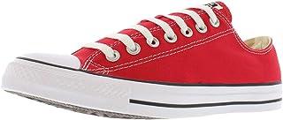 Converse Chuck Taylor All Star Season, Baskets Basses Mixte, Rouge, 48 EU