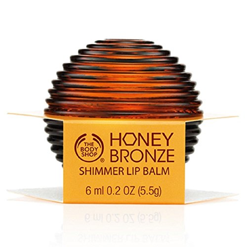 The Body Shop Honey Bronze Shimmer Lip Balm Gloss
