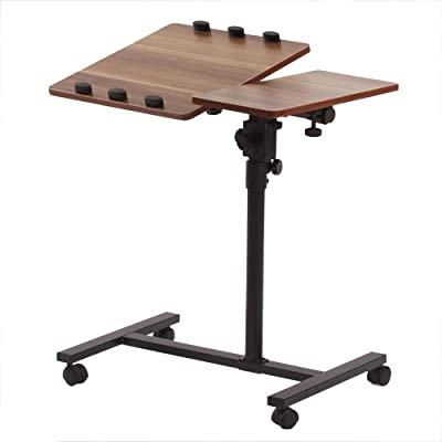 Amazon.com: Mesa plegable Chunlan mesa ajustable escritorio ...