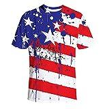 4 de julio Camisetas musculares ajustadas para hombres, culturismo, gimnasio, corte de gota largo, camiseta de entrenamiento, impresora de ajuste delgado