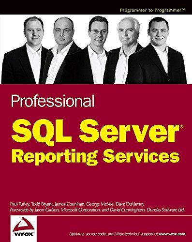 Professional SQL Server Reporting Services by Paul Turley (11-May-2004) Paperback