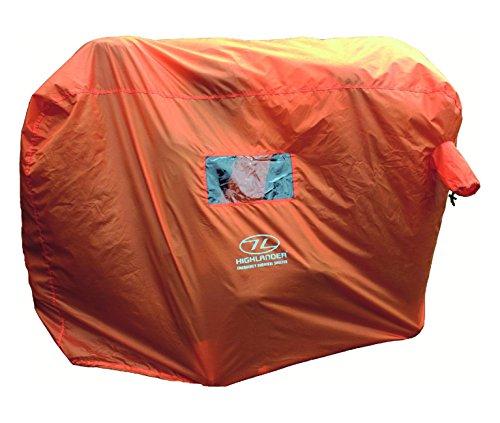 HIGHLANDER Abri de Survie 4/5 Personnes Orange