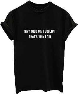 Women Graphic Funnyt T Shirt Junior Tees