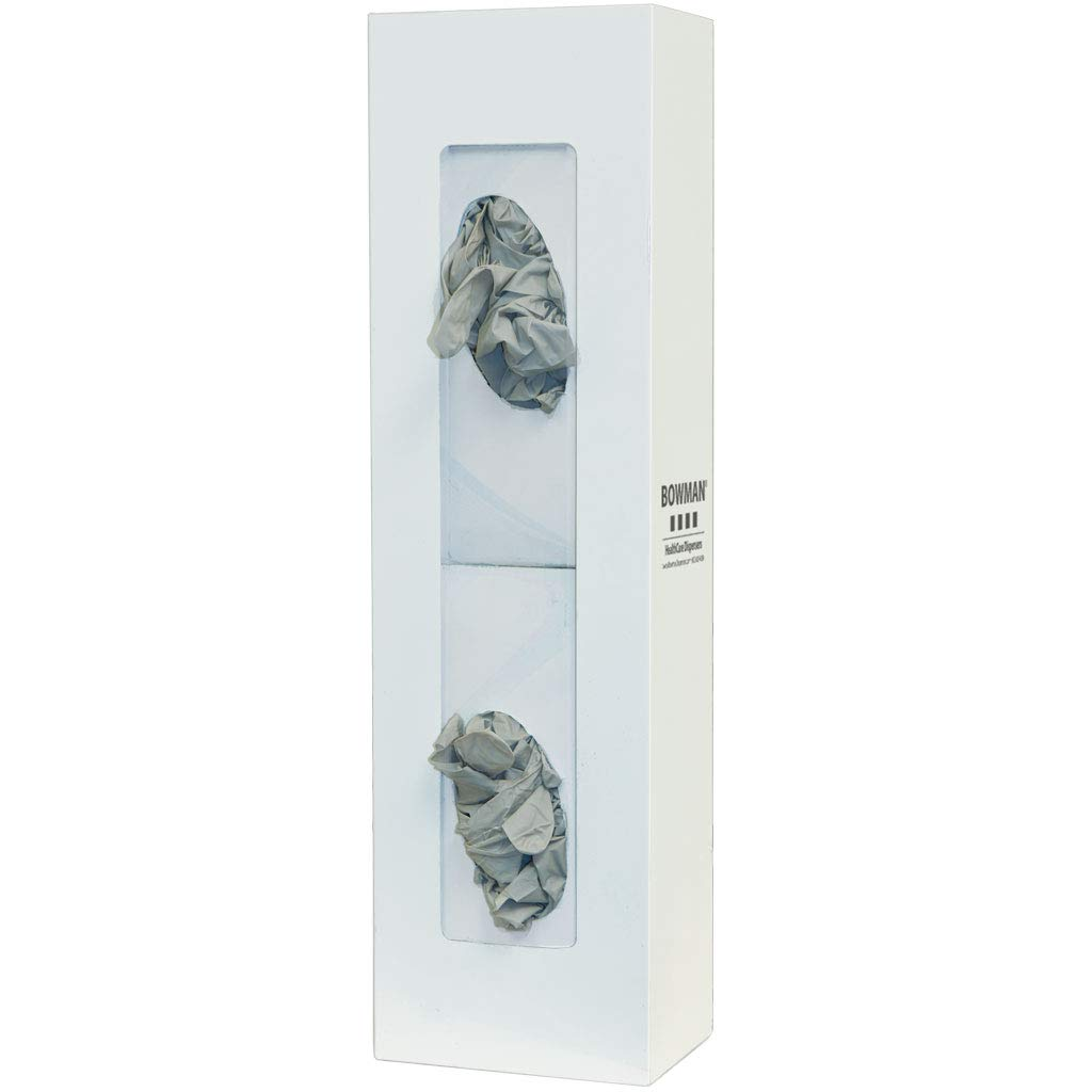 Glove Philadelphia Mall Box Dispenser - Year-end gift Double Space Holds Gl of Two Saver Boxes