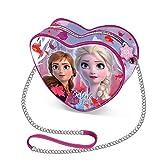 La Reine des Neiges (Frozen) Believe-Sac à Bandoulière Coeur (Mini)