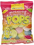 Sadex Brause Pops (Ufos) im Snackbeutel, 11er Pack (11 x 44.5 g) -