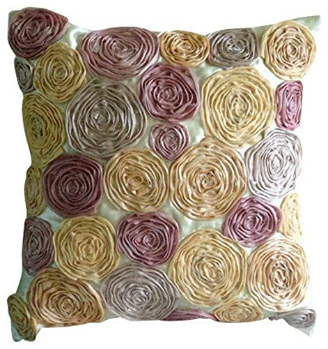Decorative Vintage Floral Rustic Throw Pillow Case