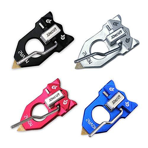 AMEYXGS Reposaflechas magnético de Tiro con Arco Resto de Flecha para Arco recurvo Accesorio de Caza Autoadhesivo para diestros y Zurdos (Azul)