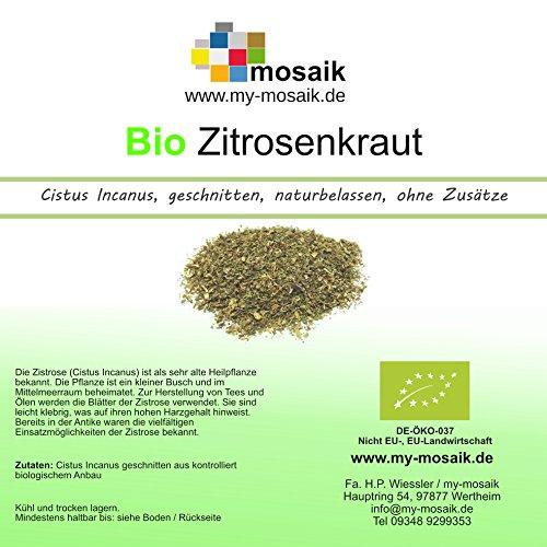 my-mosaik Bio Zistrosenkraut - Cistus incanus naturbelassen (500g)