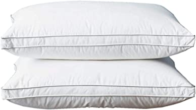 Hours Slowly Rebounding Hotel Pillow With White Cotton Cover Set Of 2 Pcs, Size 50X70cm, H022