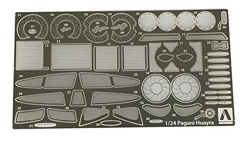 PAGANI HUAYRA Detail Up Parts photo de Etched Parts 1: 24Model Kit Kit Aoshima 010921