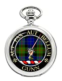 Gunn del Clan scozzese Crest-Orologio da tasca Full Hunter