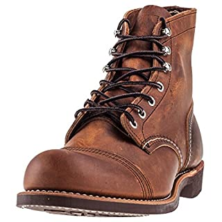 Red Wing Heritage Men's Iron Ranger Work Boot, Copper Rough and Tough, 7.5 D US (B01G5FRFLU) | Amazon price tracker / tracking, Amazon price history charts, Amazon price watches, Amazon price drop alerts