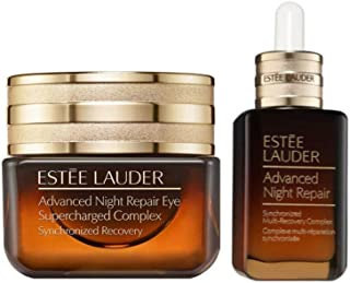 Estee Lauder Advanced Night Repair Face & Eye Duo - Eye Supercharged Complex 0.5 oz, 15ml & Multi-Recovery Complex 1 oz, 30ml