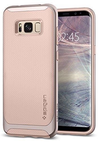 Spigen 565CS21601 Neo Hybrid für Samsung Galaxy S8 Hülle, Zweiteilige Handyhülle Modische Muster Silikon & PC Rahmen Schutzhülle Hülle Pale Dogwood